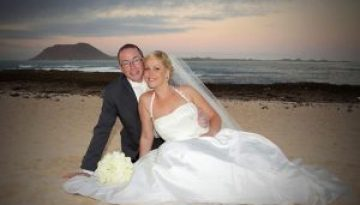 Rocks and Roses Wedding Planners Deborah and Ray Atlantis Bahía Real Corralejo 2011