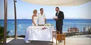 Rocks and Roses Wedding Planners Donna and Sean Marea Terraza Lounge Bar Playa Blanca 2014
