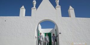 Rocks and Roses Wedding Planners Tanya and Richie El Mirador Restaurant Playa Blanca 2013