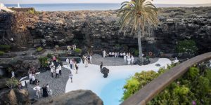 Rocks and Roses Wedding Planners Ellen and Jim Jameos del Agua 2016