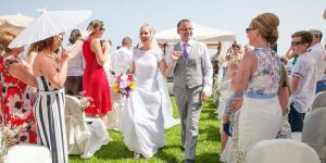 Rocks and Roses Wedding Planners Eileen and Mark Hesperia Puerto Calero 2017