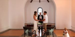 Rocks and Roses Wedding Planners Alice and Jack La Ermita Playa Blanca 2017