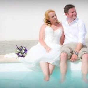 Rocks and Roses Wedding Planners Charlene and Nick Villa Wedding Costa Teguise 2017