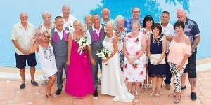 Rocks and Roses Wedding Planners Simon and Debbie Barcelo Corralejo Bay Fuerteventura 2017