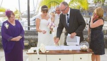 Rocks and Roses Wedding Planners Becca and Paul Amura Puerto Calero 2017
