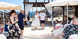 Rocks and Roses Wedding Planners Vicki and Ian Hesperia Puerto Calero 2018
