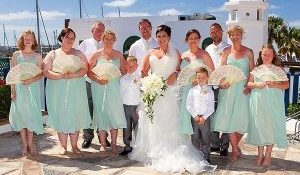 Laura and Ed had a magica day getting married in Lanzarote 9
