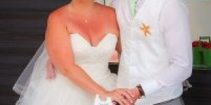 Laura and Ed had a magica day getting married in Lanzarote 1